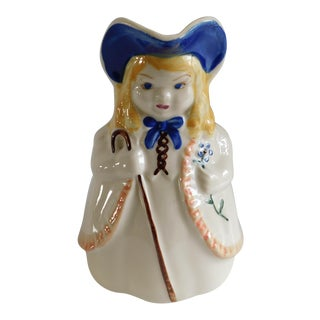 Little Bo Peep Vintage Shawnee Ceramic Pitcher For Sale