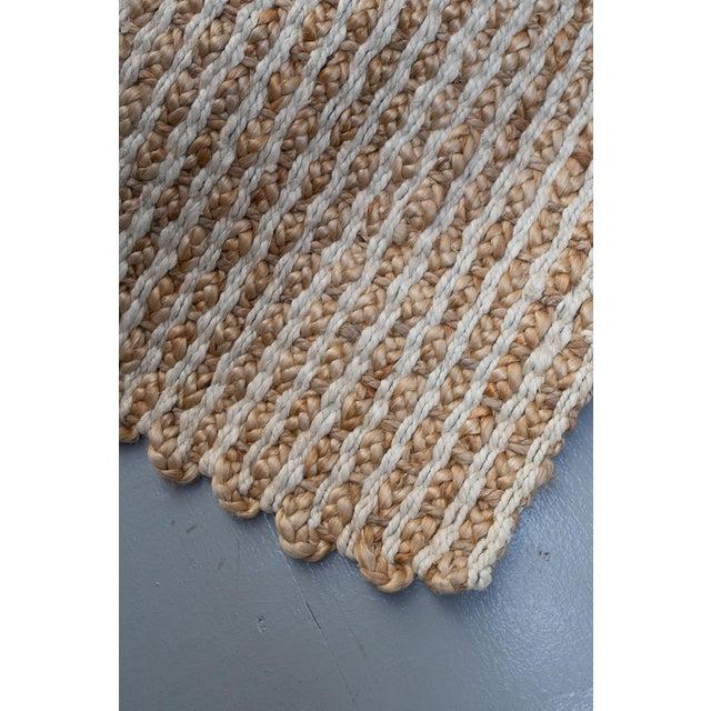 Two-tone jute doormat from Terrain