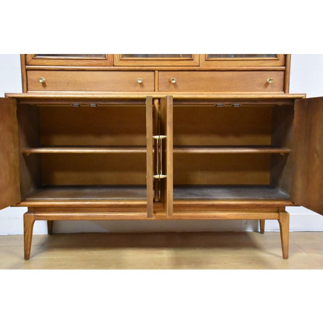 Keller Walnut Hutch Credenza - Image 4 of 9