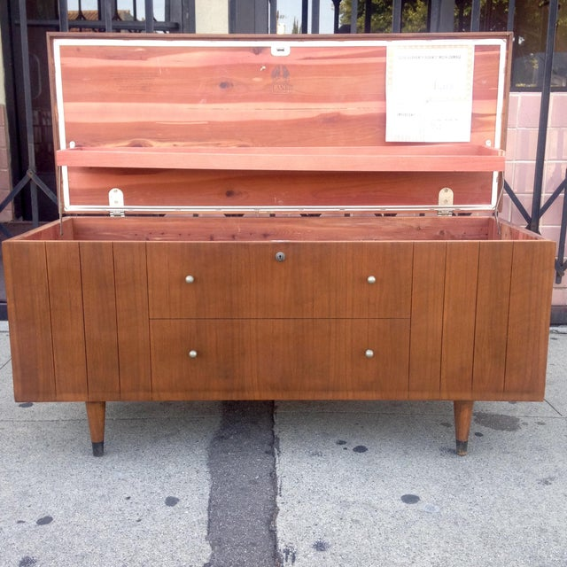 Lane Furniture Mid-Century Storage Chest Credenza - Image 7 of 11