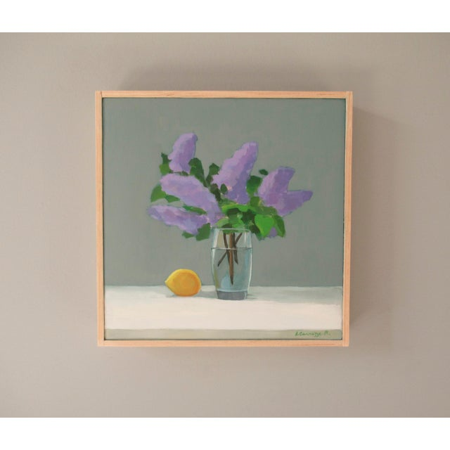 2020s Lilac and Lemon by Anne Carrozza Remick For Sale - Image 5 of 6