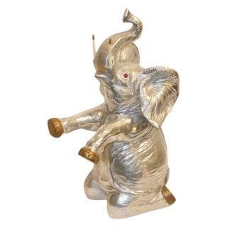 Vintage Arthur Court Elephant Champagne Cooler / Ice Bucket For Sale