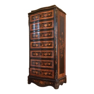 Antique 19th Century Simulated Chiffonier Secretary Desk For Sale
