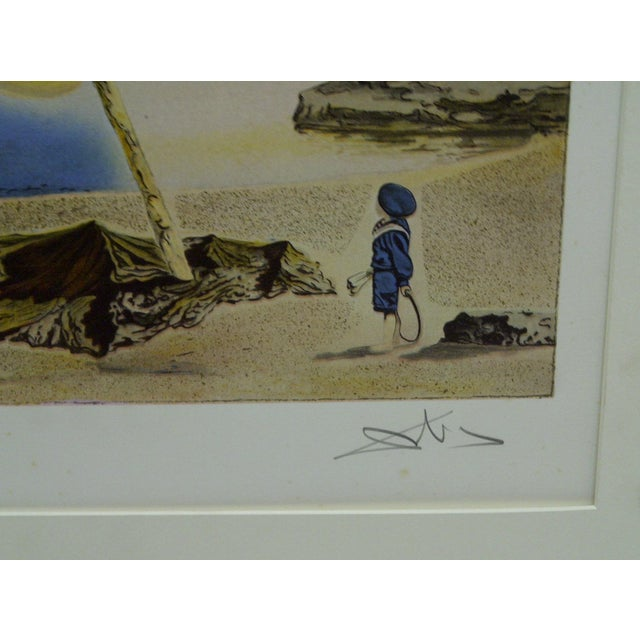"""Limited Edition Numbered (275/300) Matted Salvador Dali Print """"Spectrum of Sex Appeal"""" - Image 5 of 8"""