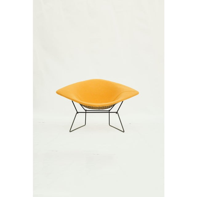 1970s Danish Modern for Knoll International Bertoia Large Diamond Chair For Sale In Seattle - Image 6 of 11