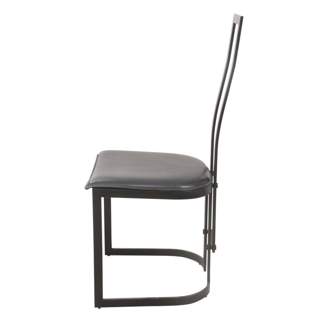 Italian Art Deco Chairs - Set of 4 - Image 3 of 7
