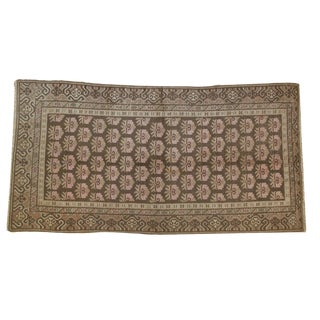 "Vintage Distressed Khotan Rug - 4'8"" X 6'9"" For Sale"