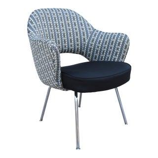 1950s Mid-Century Modern Eero Saarinen for Knoll Executive Arm Chair For Sale