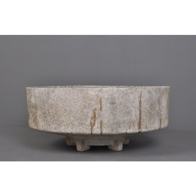 Round Form Jardiniere With Foot/ Switzerland 1960s For Sale In New York - Image 6 of 6