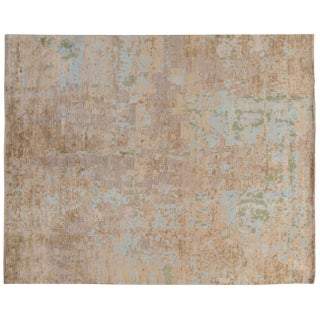 Stark Studio Rugs Contemporary New Oriental Wool Rug - 8′ × 9′11″ For Sale