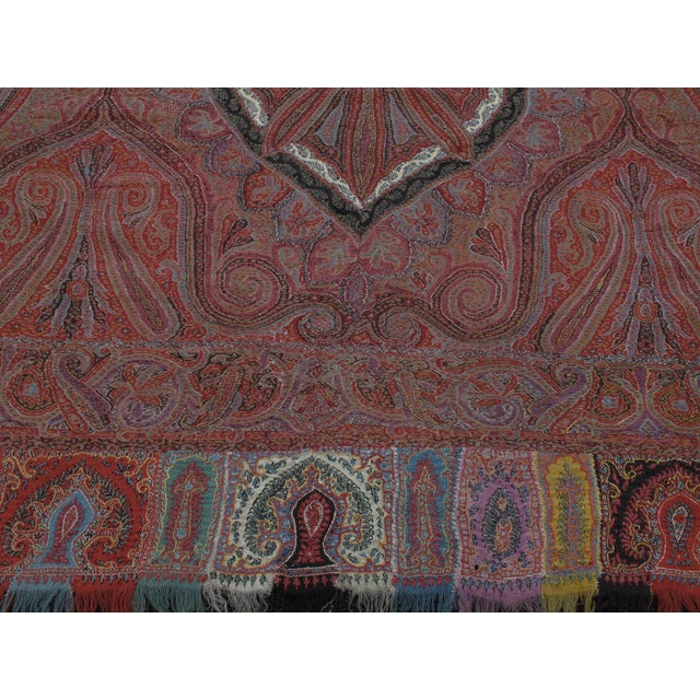 Antique Kashmiri Shawl For Sale In New York - Image 6 of 9
