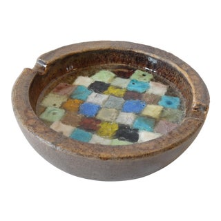 Raymor Italian Pottery Ashtray