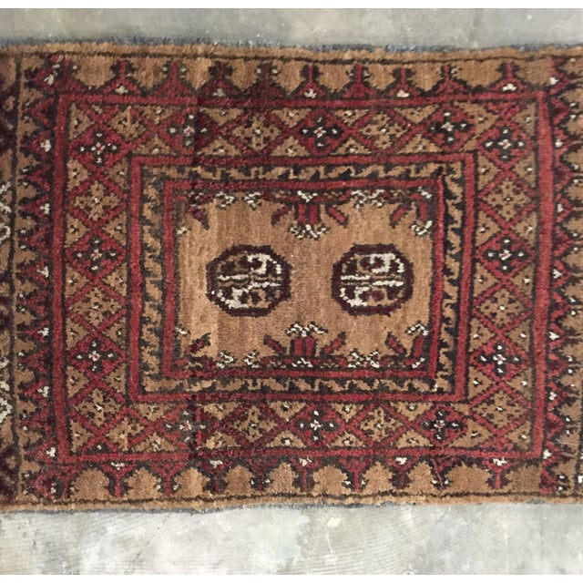 Turkaman Persian Rug - 1′7″ × 2′3″ - Image 3 of 9