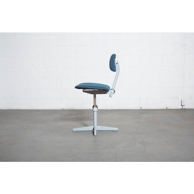 Friso Kramer Newly Upholstered Drafting Chair - Image 4 of 11
