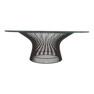 Warren Platner Bronze Coffee Table For Sale