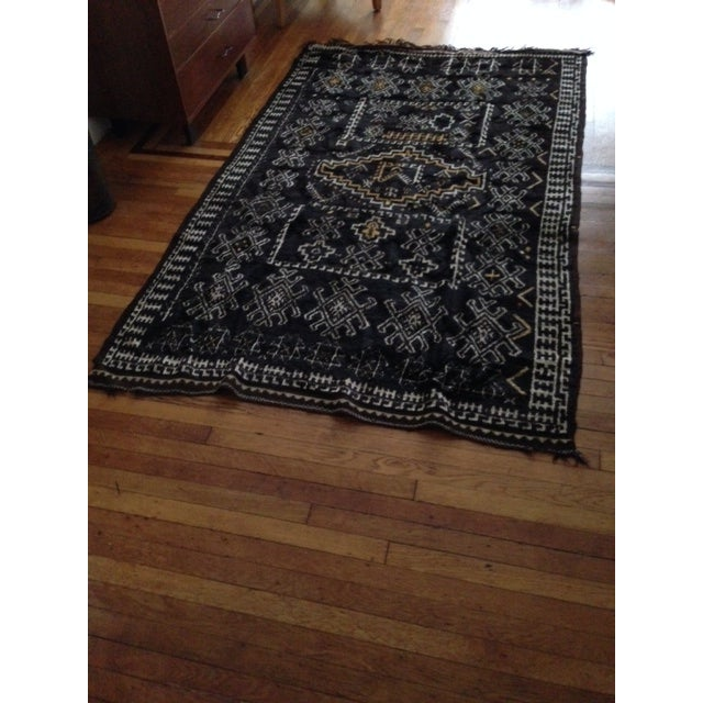 Antique Berber-Style Moroccan Rug - Image 2 of 5