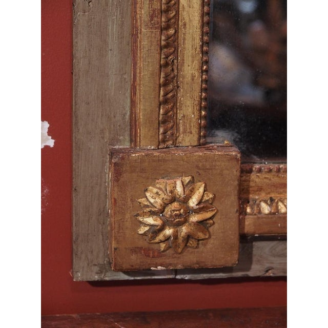 19th Century French Trumeau Mirror For Sale - Image 4 of 7