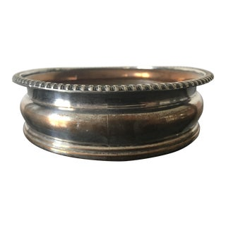 19th Century Sheffield Silver Wine Coaster For Sale