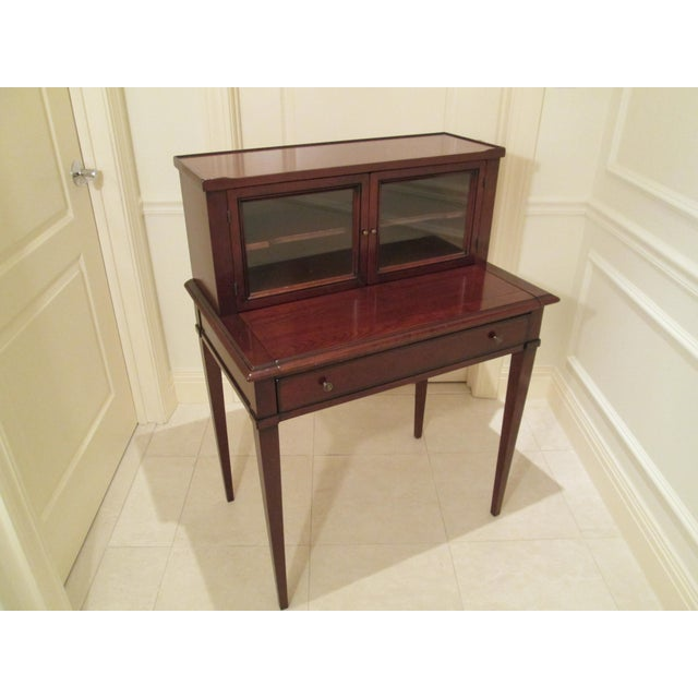 Grange Writing Desk with Curio For Sale - Image 10 of 12