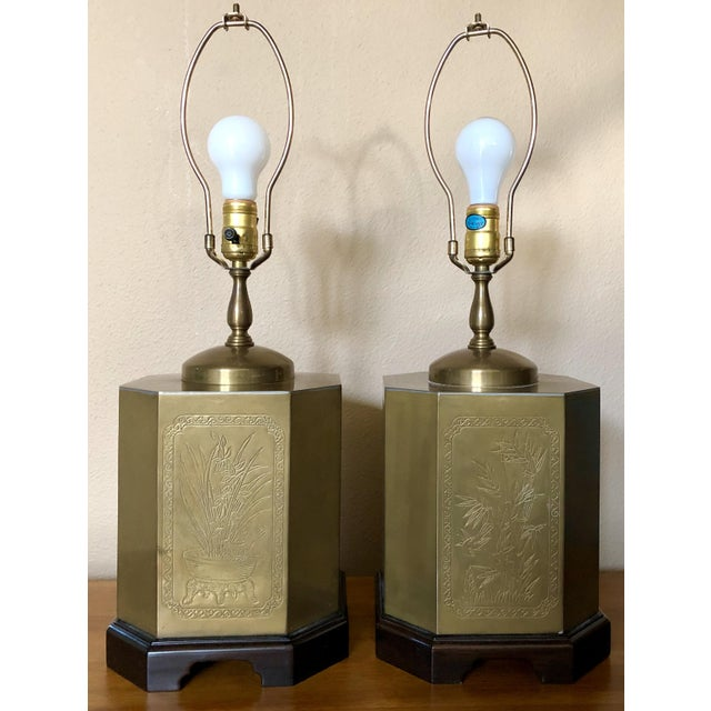 Frederick Cooper Style Table Lamps - a Pair For Sale - Image 12 of 13