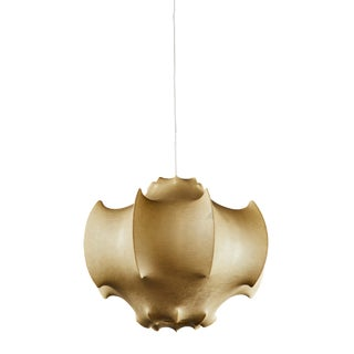 "A Classic Pier Giacomo and Achille Castiglioni ""Viscontea"" Cocoon Pendant Light For Sale"
