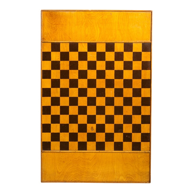 1920s Inlaid Game Board For Sale