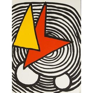 1970s Alexander Calder Original Lithograph For Sale