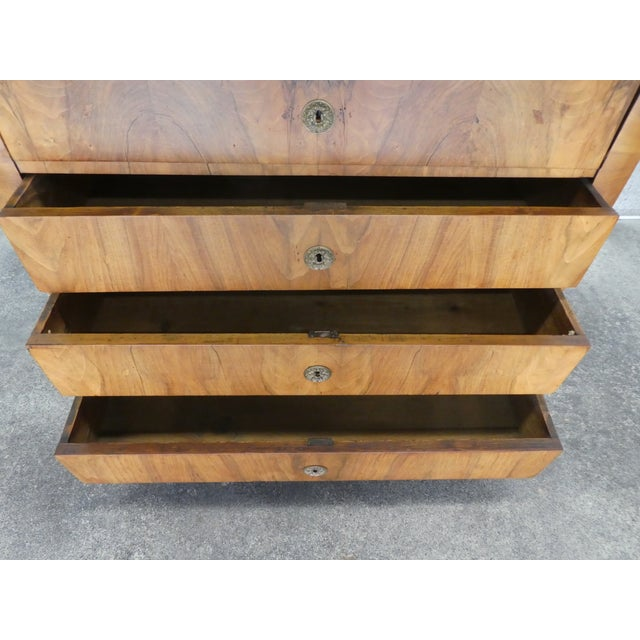 Brown 19th Century Italian Empire Chest of Drawers For Sale - Image 8 of 12