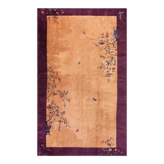 """Antique Chinese Art Deco 9'10"""" X 17'0"""" For Sale"""
