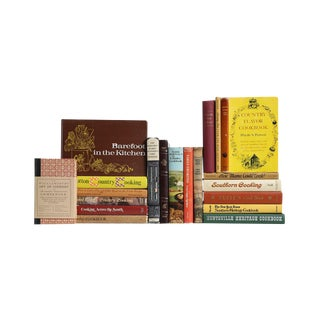 Country Cooking Culture - Twenty Decorative Cookbooks