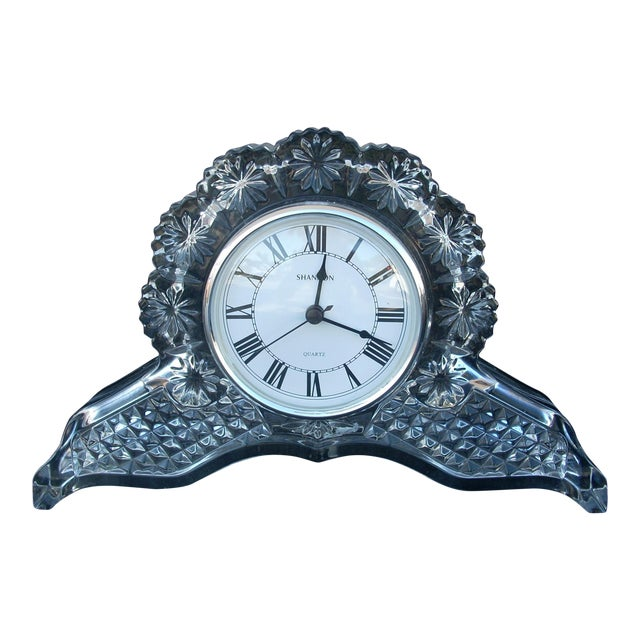 Traditional Glass Mantle Clock - Image 1 of 5