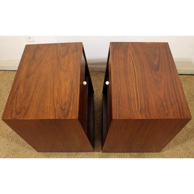 386e77ea78b08 Mid 20th Century Mid-Century Modern Kipp Stewart Drexel Declaration Walnut  Nightstands - A Pair