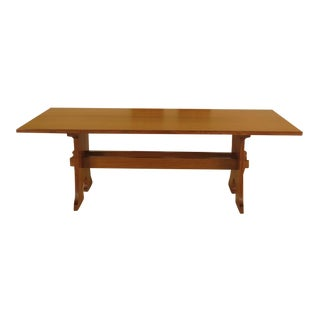 Stickley Mission Oak Mousehole Dining Room Table