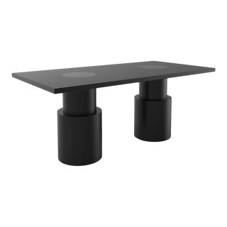 Contemporary 102 Dining Table BLK by Orphan Work, 2020 For Sale