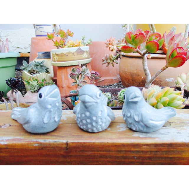 Isabel Bloom Love Birds - Set of 3 For Sale - Image 9 of 11