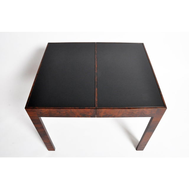 Hungarian Walnut Veneer Dining Table With Extensions For Sale - Image 12 of 13