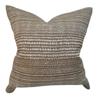 Custom Carolina Irving Organic Stripe Pillow For Sale