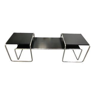 "Breuer ""Laccio"" Chrome Nesting Tables - Set of 3 For Sale"