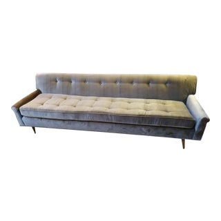 Mid Century Modern Milo Baughman for Thayer Coggin Sofa Newly Upholstered For Sale