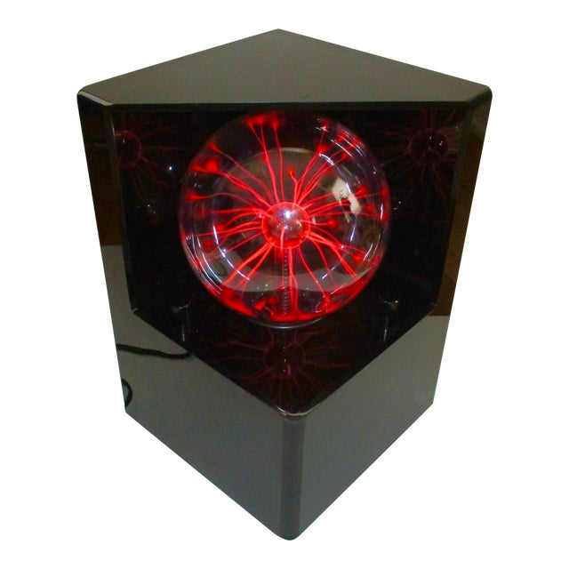 1980s Optic Illusion Table Lamp - Image 1 of 11