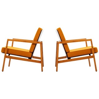 Lewis Butler Pair of Arm Chairs For Sale