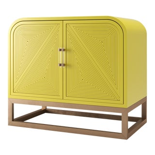 Avery Credenza - Citron For Sale