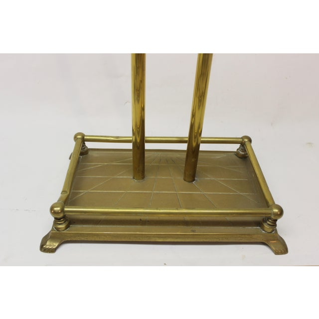 Brass Mid-Century Modern Brass Fire Tools For Sale - Image 7 of 10