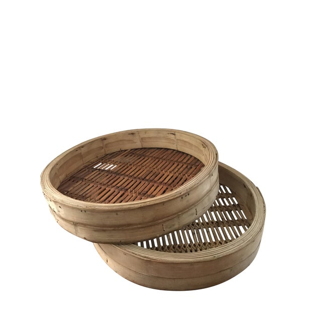 Extra Large Bamboo Steamer Basket (2) - Image 6 of 7