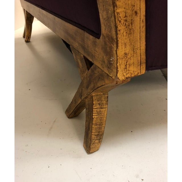 Christopher Guy Tufted Loveseat For Sale - Image 9 of 11