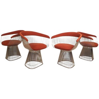 Mid-Century Modern Warren Platner for Knoll Chairs - Set of 4