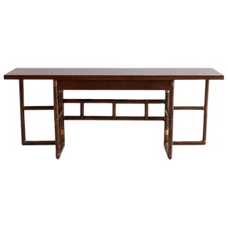 McGuire Flip-Top Server Console or Dining Table For Sale