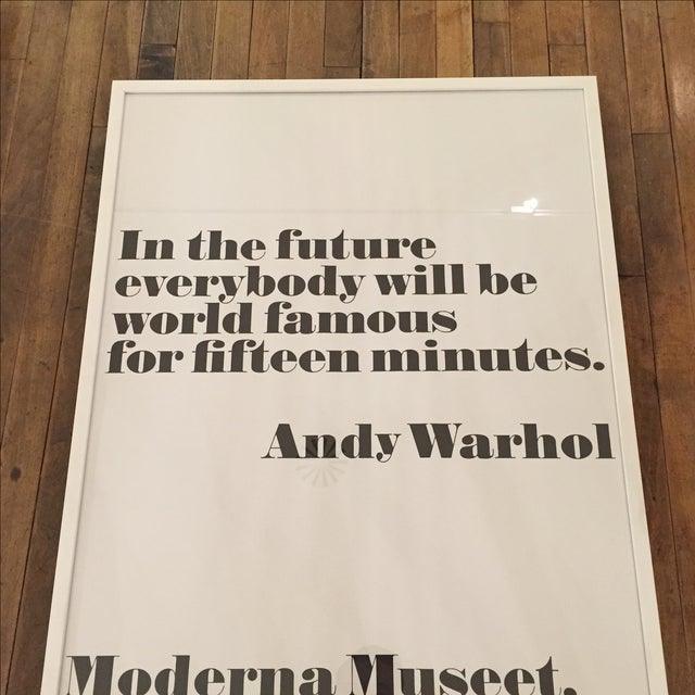 Andy Warhol Print - Image 2 of 3