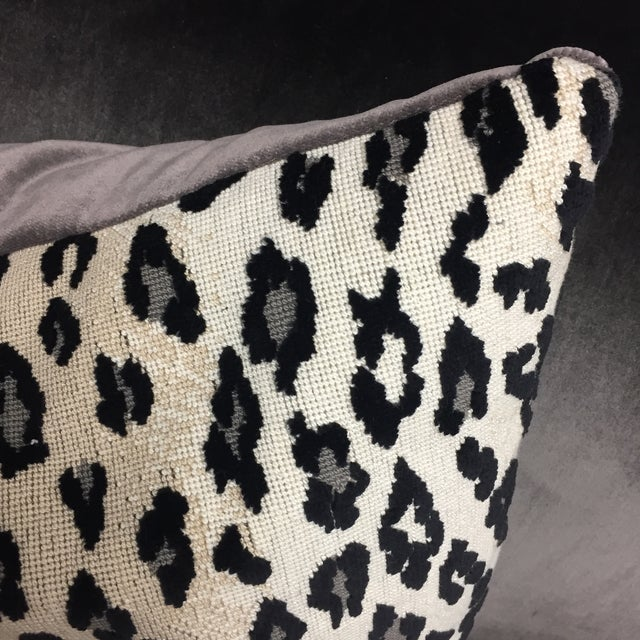 Schumacher Leopard Print Pillow Chairish