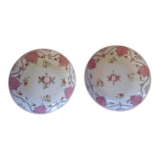 18th C. Chinese Export Serving Plates, A Pair